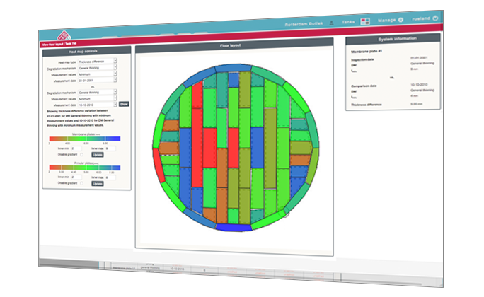 RBIT360 Visualisation tool screen image